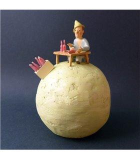 Le Buveur sur sa planète Saint Exupery Pixi 5705