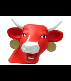 Tirelire Vache Qui Rit Leblon Delienne the cow laughing money bank VQRST02401