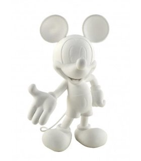 Mickey Welcome 30cm Blanc Soft Touch Leblon Delienne DISST03002SOBC