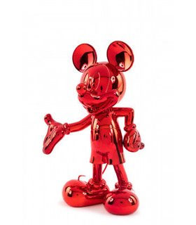 Mickey Welcome 30cm Chromé Rouge Leblon Delienne DISST03002MERO