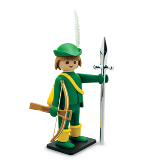 PLAYMOBIL VINTAGE Le Jeune Arquebusier COLLECTOYs