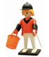 PLAYMOBIL VINTAGE DE COLLECTION : LE CAVALIER DE CONCOURS D'OBSTACLES