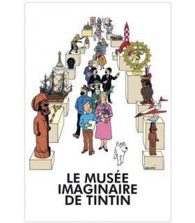 Poster Le Musée Imaginaire de Tintin