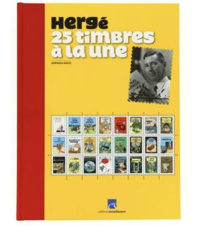 LIVRE: 25 timbres à la une - Édition limitée