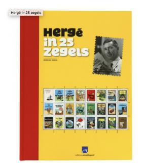 Hergé in 25 Zegels , Édition Limitée – Néerlandais