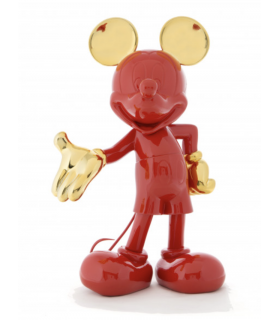 Mickey Welcome Rouge & Or