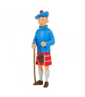 Tintin en kilt 8cm Moulinsart
