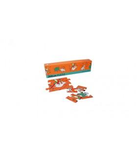 Puzzle TINTIN, Milou et perroquet. Moulinsart 81536