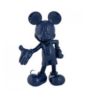 Mickey Welcome Bleu laqué