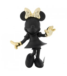 Minnie Welcome Noir & Or