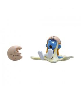 Le Schtroumpf et L'œuf Cassé