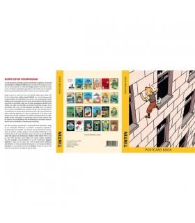 Set De 24 Cartes Postales : Tintin Couverture
