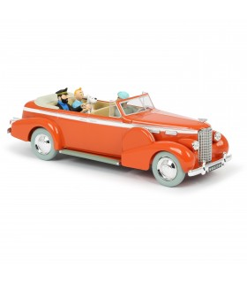 Le Taxi de New-Delhi Tintin au Tibet 1/24ème