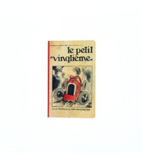 Carnet de notes Grand Format Petit-Vingtième « Bolide rouge »