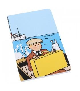 Carnet de Note - Tintin & Milou Bateau