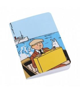 Carnet de Note Petit - Tintin et Milou Bateau