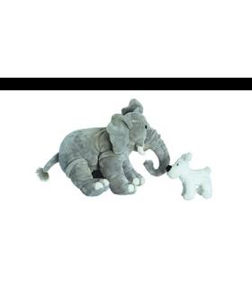 Peluche Milou & L'Élephant