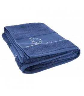 Drap de bain Bleu indigo 90 X 150