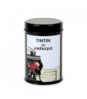 Boîte à Café Bio Tintin en Amérique - Sur le Train