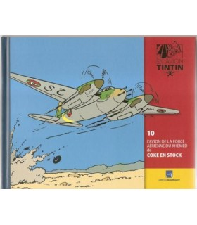 EN AVION TINTIN LIVRET SEUL n°10 L'Avion de La Force Aérienne du Khemed de Coke en Stock