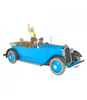 La Limousine De Parade de Tintin En Amérique 1/24ème