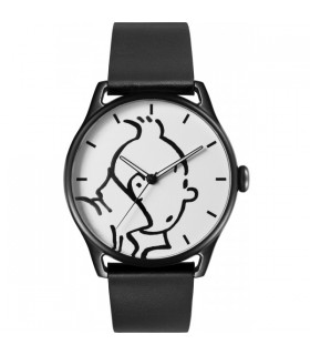 """Montre Cuir Classic Personnage Tintin &Co """"L"""""""
