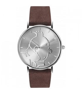 """Montre Cuir Classic Personnage Tintin &Co """"S"""""""