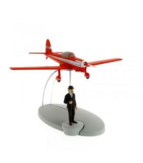 L'Avion Rouge et Dupont - L'Île Noire