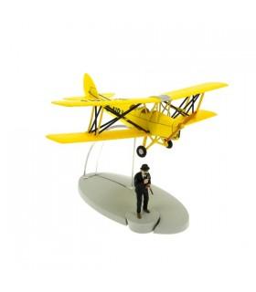 Le Biplan d'Acrobaties Jaune et Dupond - L'île Noire