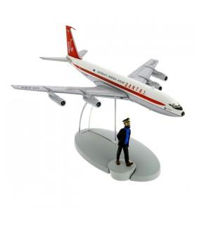 Le Boeing 707 Qantas Australia's Overseas et Haddock - Vol 714 pour Sydney