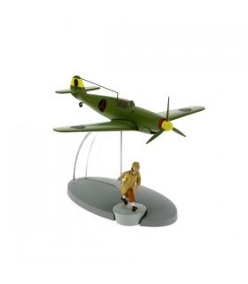 Le Chasseur Bordure BF-109 et Tintin - Le Sceptre d'Ottokar