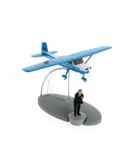 L'Avion Bleu de Müller et Dupont - L'île Noire