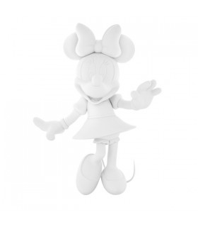 Minnie Welcome Soft Touch Blanc