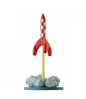 La Fusée de Tournesol au Décollage - On a Marché sur la Lune