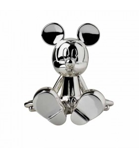 Sitting Mickey Chrome Argent - Marcel Wanders