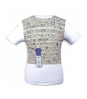T-Shirt Bibliothèque - Inside Moebius