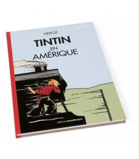 Tintin en Amérique Colorisé - Locomotive