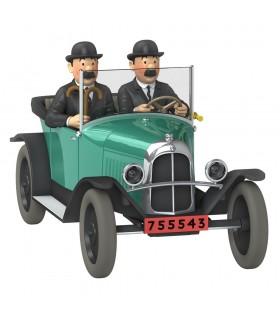 LA 5CV Trèfle des Dupondt - Tintin Au Pays de l'Or Noir 1/24e