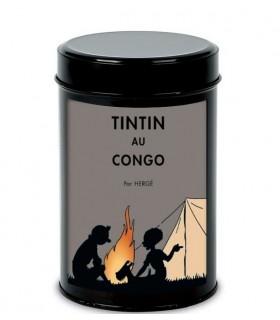 Boîte à Café Bio Tintin au Congo - Feu de Camps