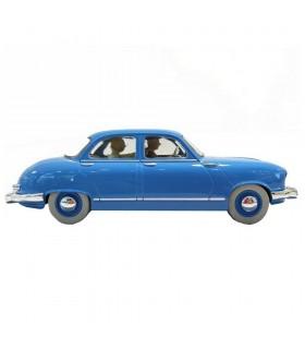 Le taxi panhard dyna z - Tintin  1/24e