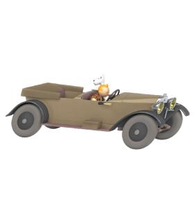 La Mercedes de Tintin Au Pays des Soviets 1/24ème