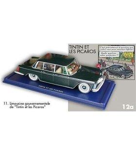 La Limousine Gouvernementale - Tintin et les Picaros