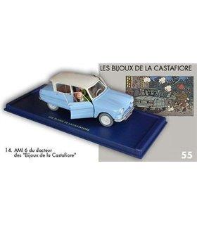 l'Ami 6 du Docteur Les Bijoux de la Castafiore En voiture Tintin Moulinsart 14