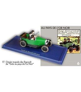 La Citroën Torpedo des Dupondt Tintin au pays de l'Or noir En voiture Tintin 17